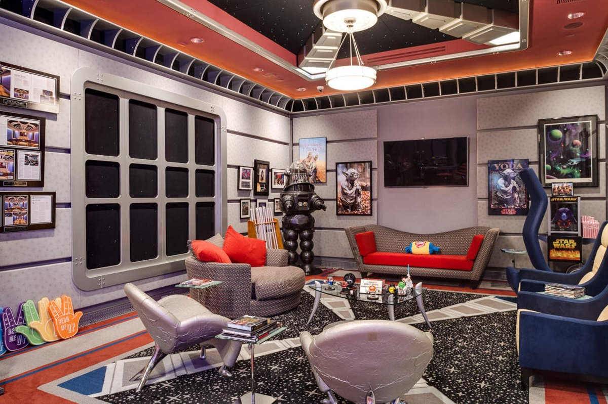 la maison star trek est vendre pour 35 millions de amenagementmaison. Black Bedroom Furniture Sets. Home Design Ideas